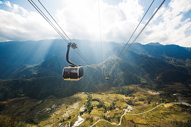 Fansipan-trekking- cable car-zonitrip