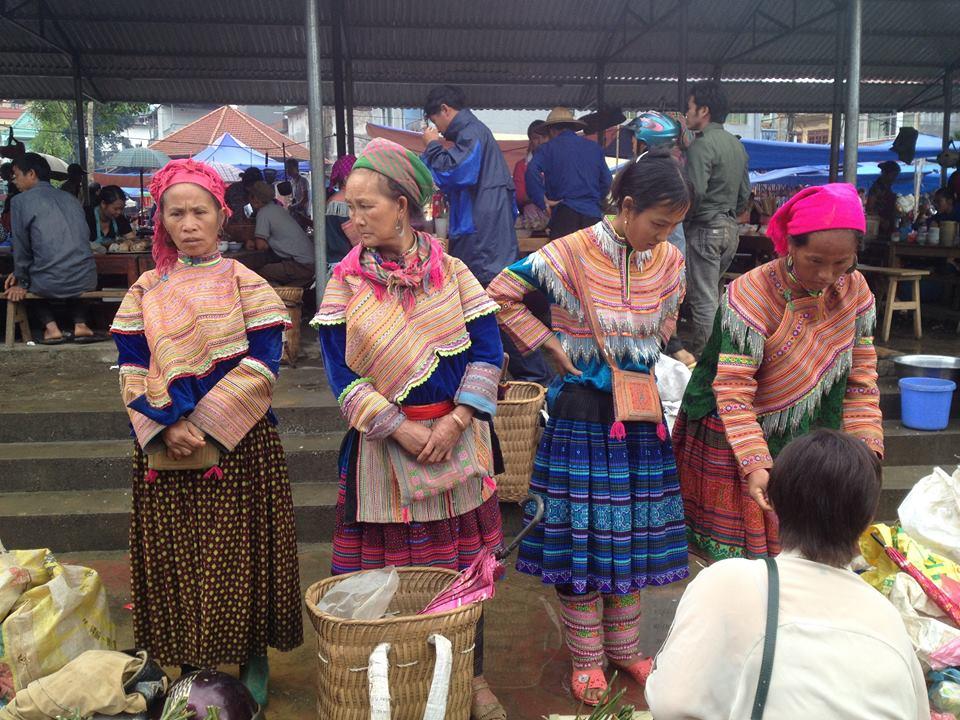 Bac Ha market, Sapa, Vietnam