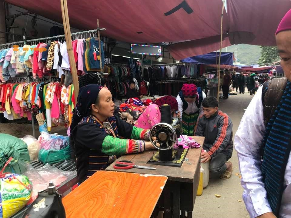 meo vac market- ha giang attractions