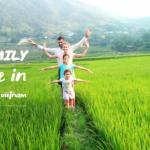 mu cang chai- family tour