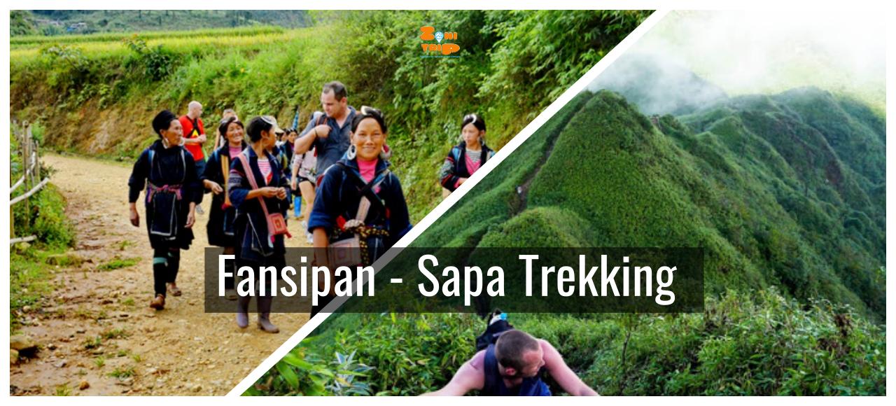 Trekking Fansipan- Hiking Sapa