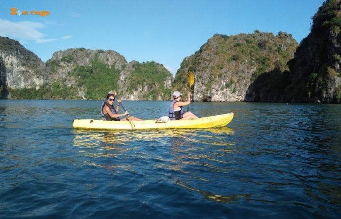 halong - lan ha bay-kayaking