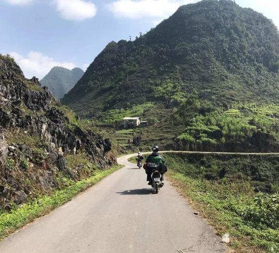 northeast motorbike vietnam