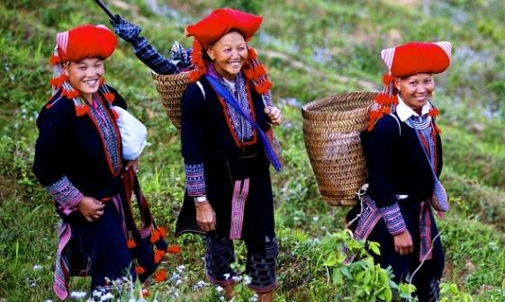 Dao people in Sapa