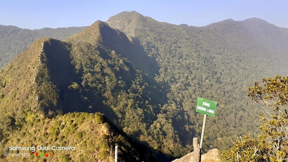 Dinosaur mountain in Ta Xua, YEn Bai